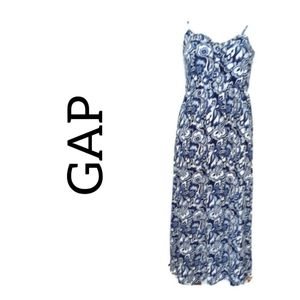 Gap Floral Summer Maxi Sun Dress Like new Size m